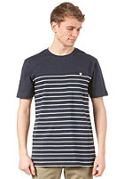 WLD Talk Less S/S T-Shirt dark blue white