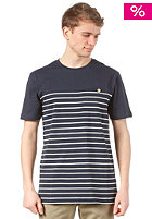 Talk Less S/S T-Shirt dark blue white