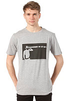 WLD The Magic Wizard Stick S/S T-Shirt heather grey