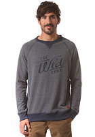 WLD The WLD Corp Rip Sweat denim blue melange