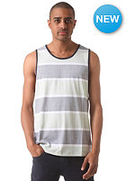 WLD Waving Ones Tank Top blue green stripes