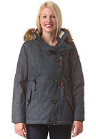 WLD Womens Betty's Smile Jacket dark denim
