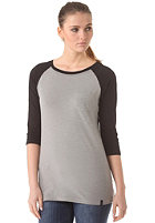 WLD Womens Club Soda II Longsleeve grey melange black