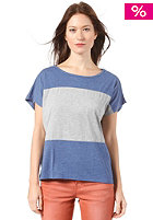 Womens Come To Me Top blue grey melange