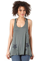 Womens Crazy Diamond Top dark green