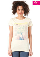 WLD Womens Don't Worry Son S/S T-shirt banana milk
