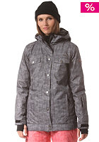 WLD Womens Emoria Snow Jacket black denim