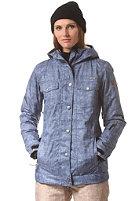 WLD Womens Emoria Snow Jacket light blue denim