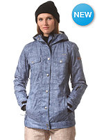 WLD Womens Emoria Snow Jacket light blue denim