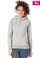 Womens Five Steps Hooded Sweat grey melange