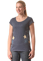 WLD Womens Galactic Girl S/S T-Shirt denim blue melange