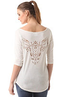 WLD Womens Hachita Top offwhite mottled