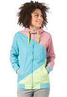 Womens Japs II Jacket ice rosebluegreen