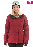 WLD Womens Kelly II Jacket bordeaux