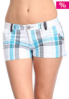 WLD Womens Knights Hotpant white checked