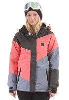 WLD Womens Limelight Love II Jacket blue/pink/melange