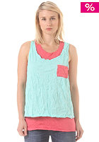 WLD Womens Looking For Summer Top blue coral