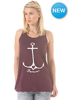 WLD Womens Marine Forever Top burgundy