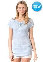 WLD Womens Neklab S/S T-Shirt light grey blue