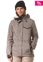WLD Womens Nylani Snow Jacket brown melange