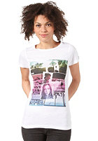 Womens On My Way To Providence S/S T-Shirt white