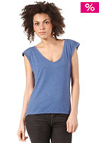 Womens Only Dancing Top blue melange