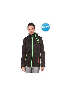 WLD Womens Pagosa II Fleece Jacket black rasta