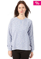 WLD Womens Real Love Sweatshirt blue melange