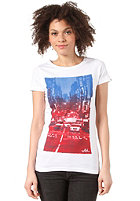WLD Womens Rosie Come Out Tonight S/S T-Shirt white