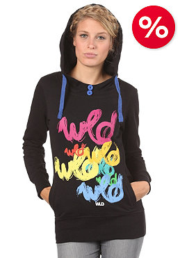 WLD Womens Sugary Hooded Sweatshirt black