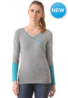 WLD Womens Sweet Cake Longsleeve grey tile blue