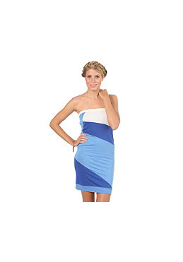 WLD Womens Vivonne II Dress blue/white