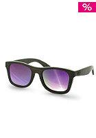 WOOD FELLAS Jalo Mirror Sunglasses brown/purple