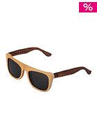 WOOD FELLAS Sunglasses Mino wheat/brown
