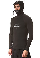 XCEL Polypro with Hood L/S black