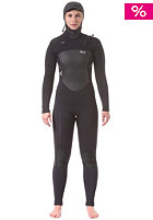 XCEL Womens Infinit Fullsuit Hooded X-Zip 2 6/5/4 black