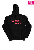 YES Basic Hooded Sweat Black