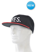 YES Basic Snapback Cap Black / Red