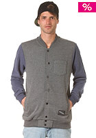 ZIMTSTERN Buddy Sweat Jacket dark grey heather