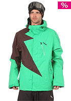 ZIMTSTERN Flash Jacket 2013 green/brown