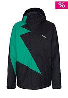 ZIMTSTERN Flash Snow Jacket black/emerald