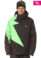 Flash Snow Jacket black/lime