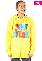 ZIMTSTERN Grower Zip Sweat yellow