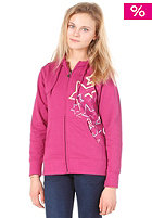 ZIMTSTERN Hoku Hooded Zip Sweat fuchsia