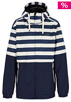 ZIMTSTERN Hood Jacket  navy/white