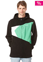 ZIMTSTERN Ice Fleece Jacket black/green