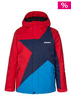 ZIMTSTERN Kids Caspar Snow Jacket mars red