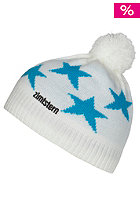 ZIMTSTERN Kids Star Beanie white/blue