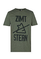 ZIMTSTERN Liam S/S T-Shirt olive heather