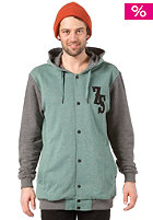 ZIMTSTERN Logan Hooded Sweat forest heather/dark grey heather